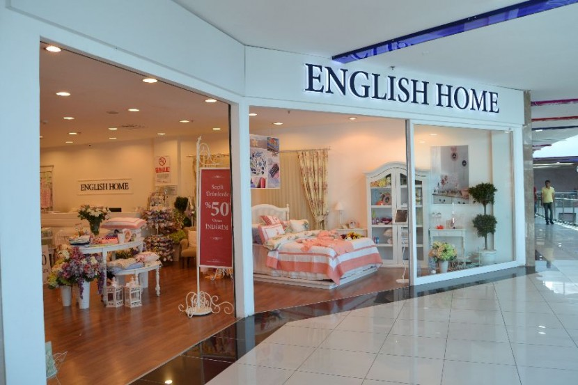 English Home'da % 50 indirim