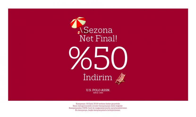 U.S.Polo'dan Sezona Net Final!