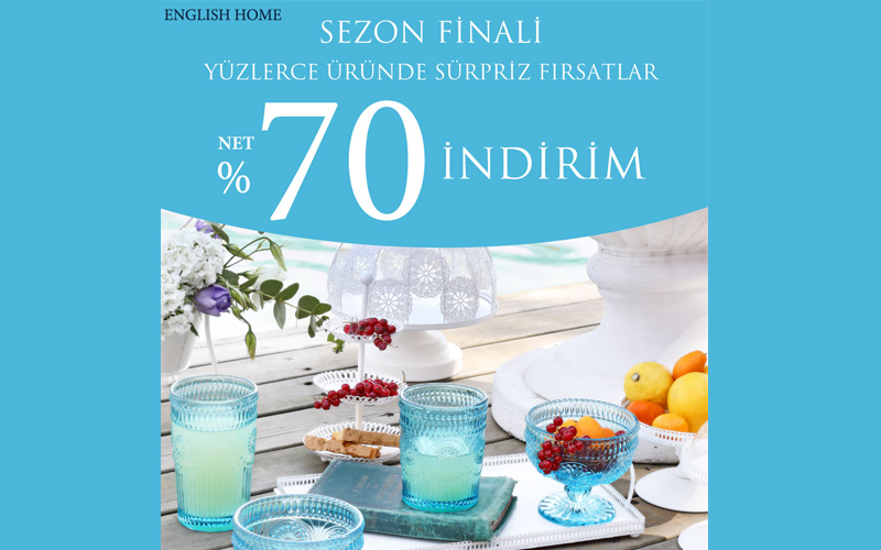 English Home'den Sezon Finali İndirimi