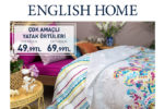 English Home'den İndirim
